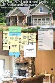 1259 best houses images on pinterest ranch house plans house architectural designs 3 bed craftsman house plan 11777hz comes to life our client built this