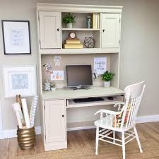 White Desk And Hutch by Hutch Desk White Desk With Hutch Home Office Furniture