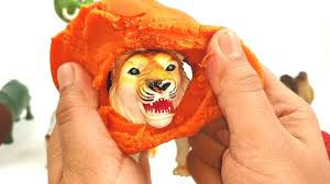 Orange Colors Names Learn Names And Sounds Of Wild Animals Learn Colors With Play Doh