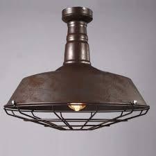 industrial semi flush mount lighting fashion style warehouse barn semi flush mount ceiling lights