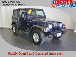 2006 green jeep liberty used 2006 jeep wrangler for sale libertyville il