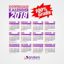 Kalender 2018 Hari Raya Nyepi Desain Kalender 2018 Format Cdr Pdf Gratis