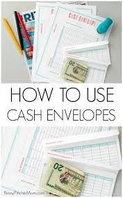 Get Out Of Debt Budget Spreadsheet How To Use The Cash Envelope System Includes Template