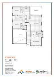 robertson designer home williams designer homes