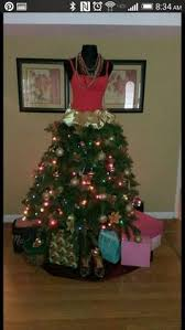 dress form christmas tree paspop kerstboom freubelfun