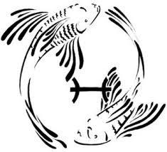 tribal pisces zodiac symbol tattoos september 2007 tattoos