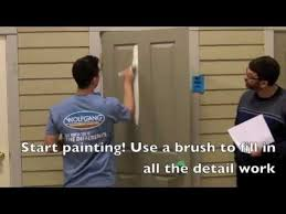 Painting 6 Panel Interior Doors How To Properly Paint A Panel Door Youtube