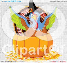 cute thanksgiving background clipart of a cute thanksgiving turkey bird pilgrim flapping his
