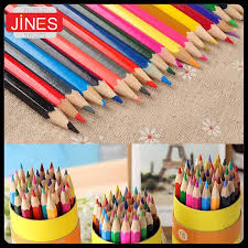 online cheap wooden colored pencils for drawing writing sketch