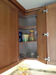 Corner Cabinets For Kitchens Corner Kitchen Cabinet Solution Easy Access Hinges