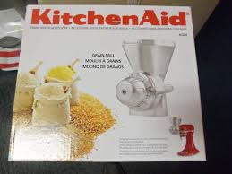 Used Kitchen Aid Mixer by Grain Mill Mixer Accessories For Kitchen Aid The Jackpot New