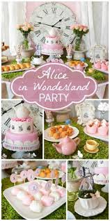 Alice In Wonderland Decoration Ideas Whimsical Alice In Wonderland Inspiration Ruffled U2013 Photo By Http