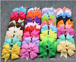 hair bows for sale hot sale 8 8cm hair bows hair pin for kids children hair
