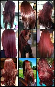 rinses hair with coke burgundy hair rinse blonde ombre hair ideas