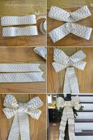 christmas wired ribbon make diy wired ribbon bows the diy