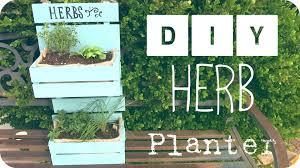 Diy Herb Garden Diy Herb Garden Mother U0027s Day Gift Loveli Channel 2015 Youtube