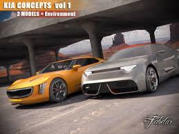 kia supercar kia concepts vol 1 3d model cgtrader