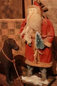 151 best primitive santas images on primitive santa