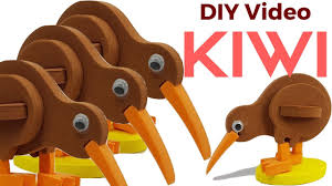 diy how to make 3d kiwi bird bird making craft for kids create