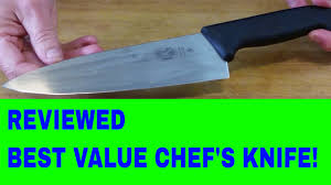 Victorinox Kitchen Knives Chef U0027s Knife Review 8 Inch Victorinox Fibrox Youtube