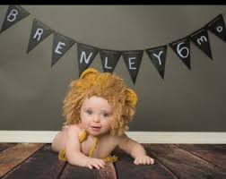 Infant Lion Halloween Costume Baby Lion Costume Etsy