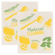 amazon com now designs swedish dishcloths natural cleaning set
