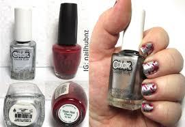 stamping nail art using color club and opi nailhubnz youtube