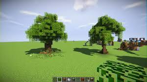 around with custom trees minecraft