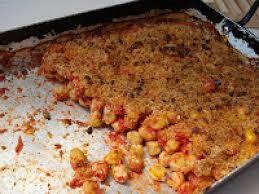tomates cuisin s gratins de pois chiches cuisinés à la tomate recette ptitchef