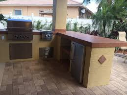 custom outdoor kitchen with dcs grill bbq depot