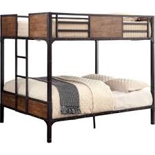 Loft Bed With Futon And Desk Loft Bed With Desk And Futon Wayfair