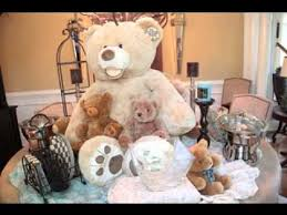 teddy centerpieces for baby shower teddy baby shower decor ideas