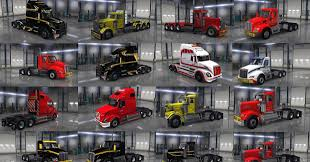 kenworth heavy haul trucks heavy haul truck skin pack american truck simulator mod ats mod
