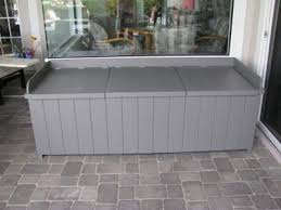 Lowes Garden Variety Outdoor Bench Plans by How To Build A Deck Storage Box Lowe U0027s Creative Ideas Could