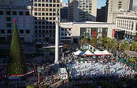 sf christmas tree lighting 2017 2017 2018 holiday events union square tree lighting ice skating