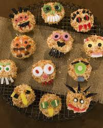 Halloween Decorations For Cakes by Halloween Cupcake Recipes Martha Stewart