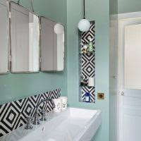 turquoise tile bathroom blue white bathroom decoration using white marble tile bathroom
