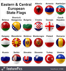 Ga State Flags Illustration Of Ball Flags