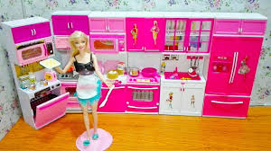 barbie kitchen the largest barbie doll kitchen with accessories