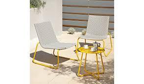 Asda Direct Armchairs Ventura 3 Piece Bistro Grey And Yellow Home U0026 Garden George
