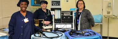 surgical tech program or receives much needed equipment thanks to