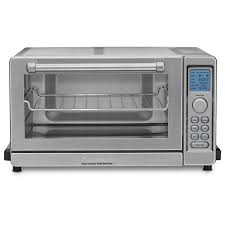Black And Decker Stainless Toaster Oven Cuisinart Tob 135 Brushed Stainless Steel Deluxe Convection