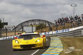 corvette test pegged back after topping le mans test