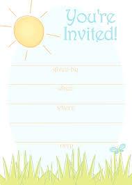 template birthday party invitation templates art birthday party
