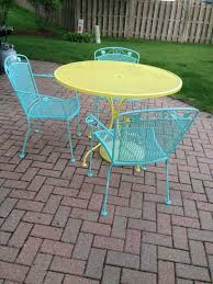 Steel Patio Furniture Sets by Best 10 Refinished Patio Furniture Ideas On Pinterest Painted