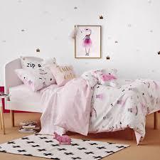 Single Bed Duvet Tutu Cute Pink Single Bed Quilt Doona Duvet Cover Set New Adairs