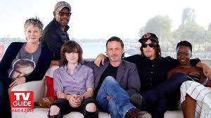 new walking dead cast 2016 the walking dead comic con 2015 andrew lincoln norman reedus