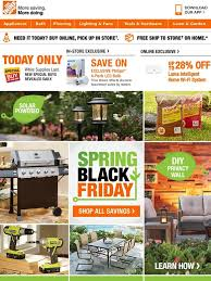 spring black friday saving in home depot home depot spring black friday savings now working overtime