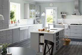 ikea küche grau küchenoberschränke hängeschränke für die küche ikea