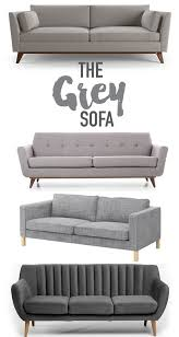 Light Grey Sofas by The 25 Best Grey Sofas Ideas On Pinterest Grey Sofa Decor